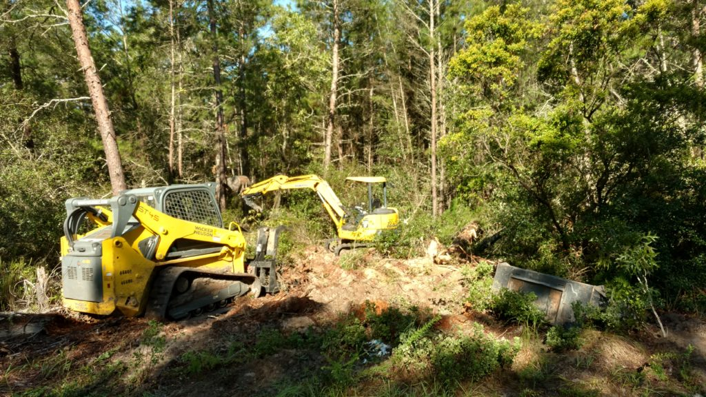 Marion Oaks/ Ocala, FL Land Clearing Job - Rooster Tractors